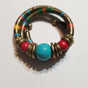 "Sassy Jones - ""Vintage"" Jevata Wrap (Multicolored)"